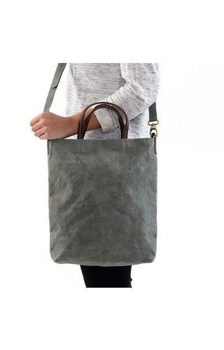 UASHMAMA® Otti Bag Dark Gray Lined