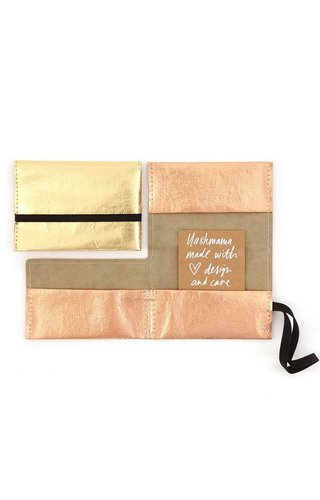 UASHMAMA® Card Holder Classic Metallic