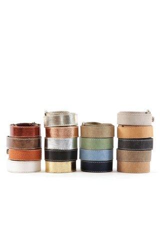 UASHMAMA® Bretelles en papier basiques et colorées