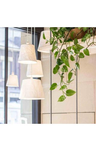 UASHMAMA® Paniere lampe blanche