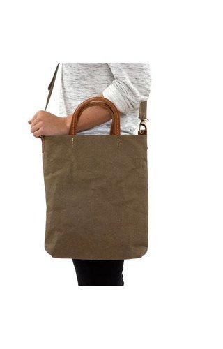 UASHMAMA® Otti Bag Olive Lined
