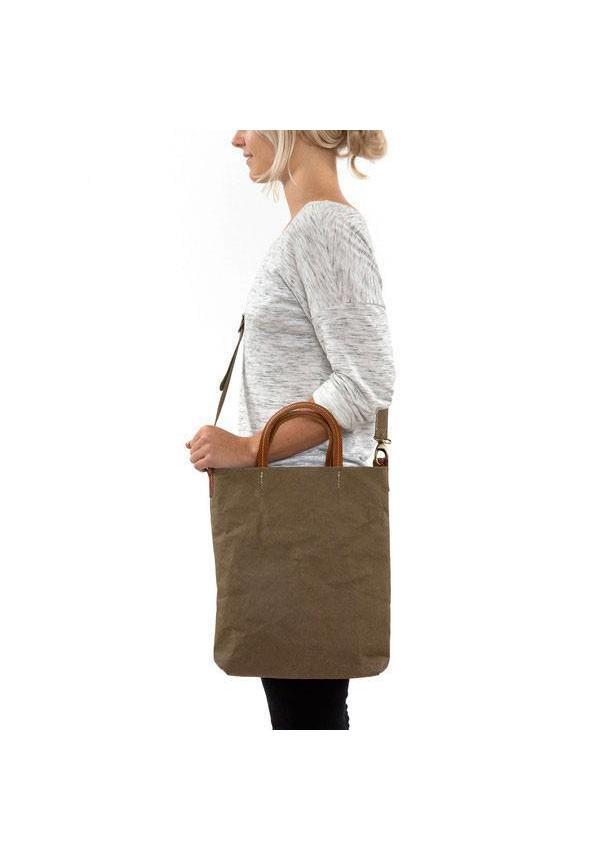 Otti Bag Olijf Lined