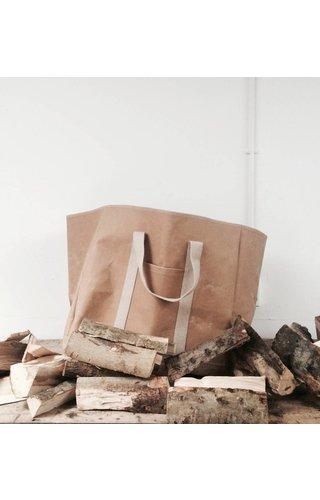 UASHMAMA® Sac en bois naturel