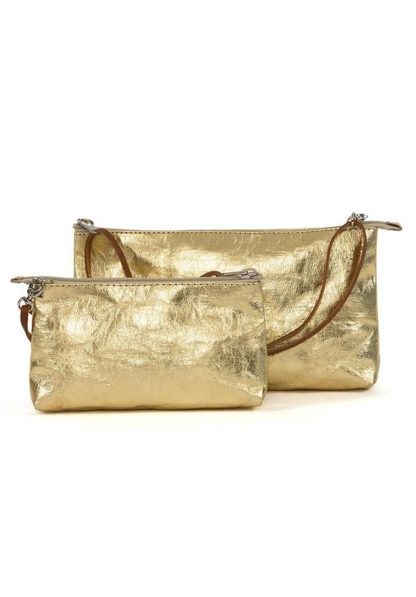 La Busta Long Strap Metallic