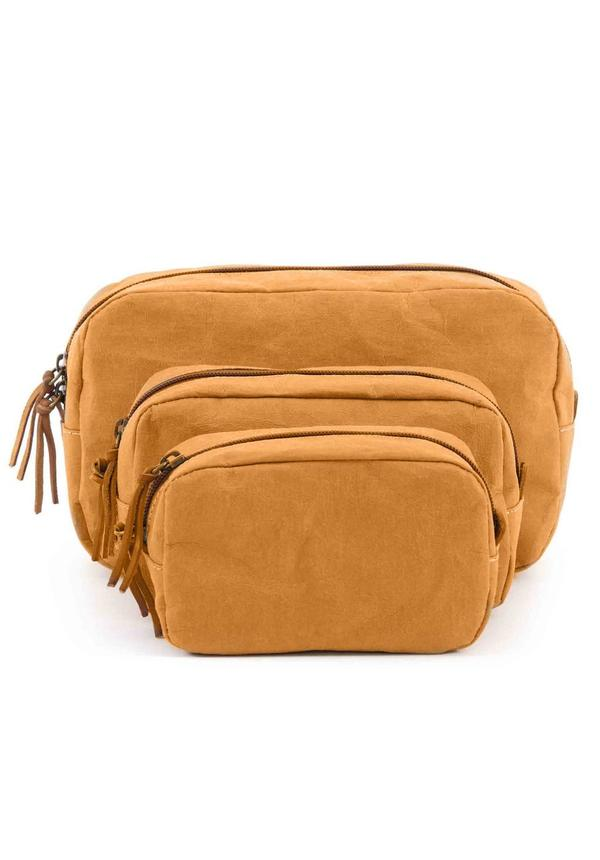 Beauty Case Camel
