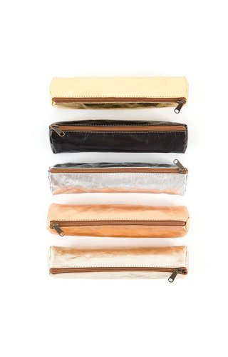 UASHMAMA® Pencil Case Slim Metallic