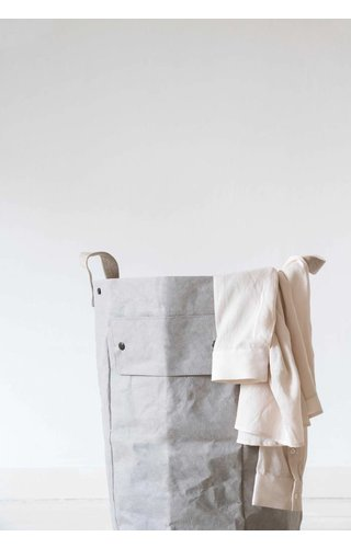 UASHMAMA® Laundry Bag Gray