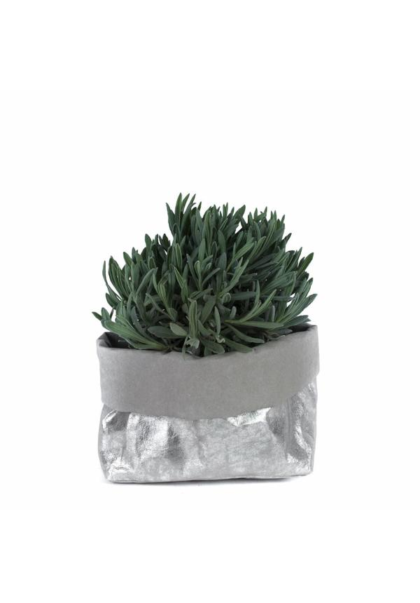 Paper Bag Nuvola Gray / Silver