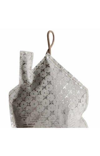 UASHMAMA® Deco Home Print Large Grey/Silver