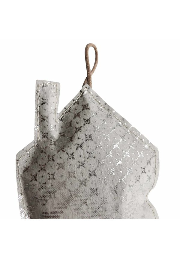 Deco Home Print Large Grey/Silver