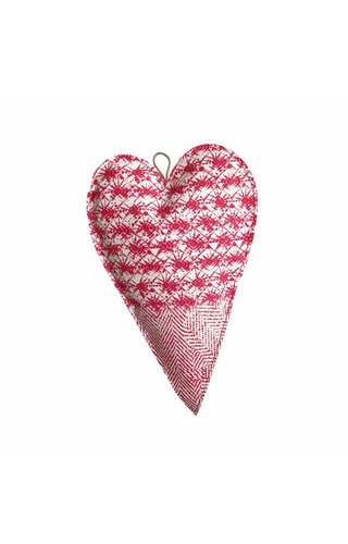 UASHMAMA® Deco Heart Large Print White/Toscana