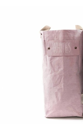UASHMAMA® Laundry Bag Quarzo Rosa