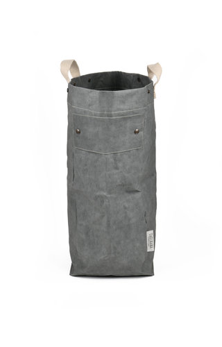 UASHMAMA® Laundry Bag Dark Gray