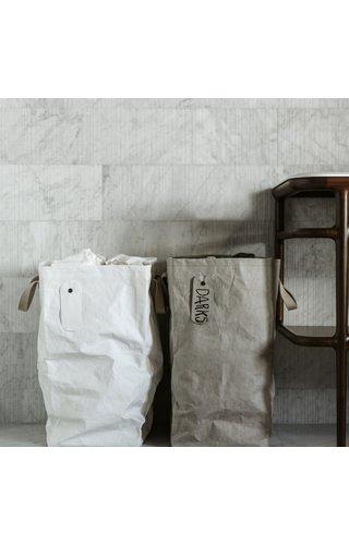 UASHMAMA® Lapo Laundry Bag with linnen top