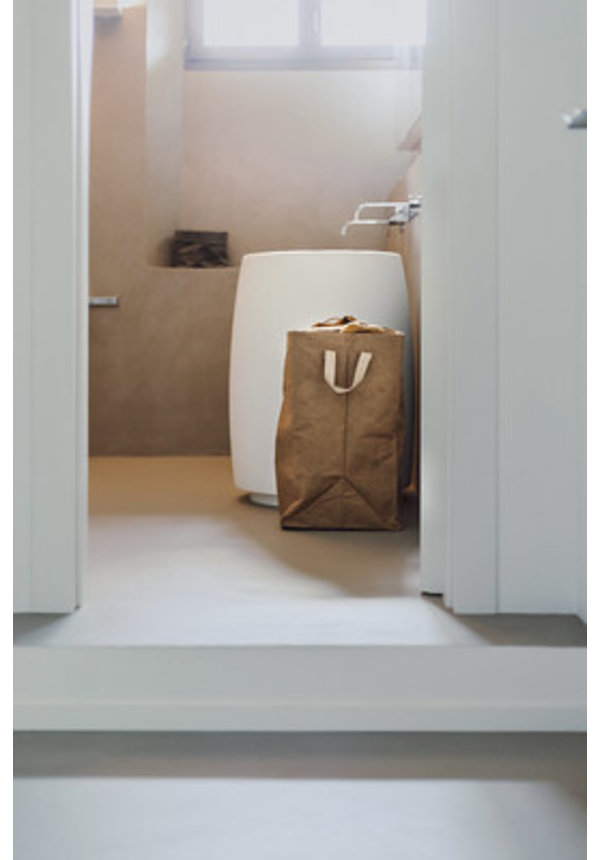 Lapo Laundry Bag with linen top