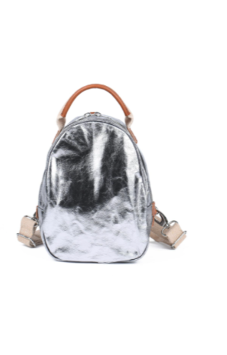 UASHMAMA® Olli Backpack Metallic