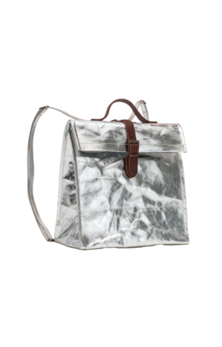 UASHMAMA® Lunch Bag Zaino (Backpack) - Metallic