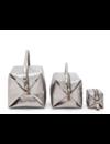 Trousse de beauté Origami Medium - Métallisé