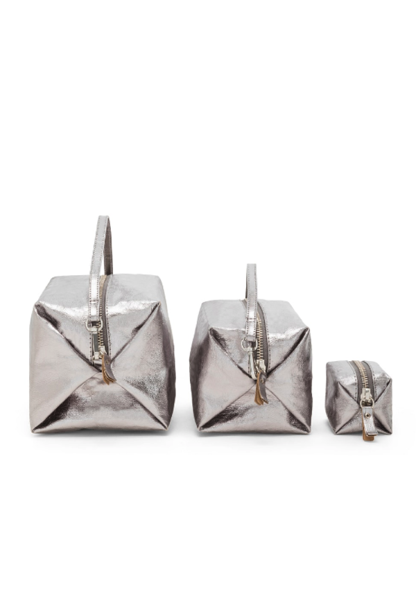 Origami Beauty Case Medium - Metallic