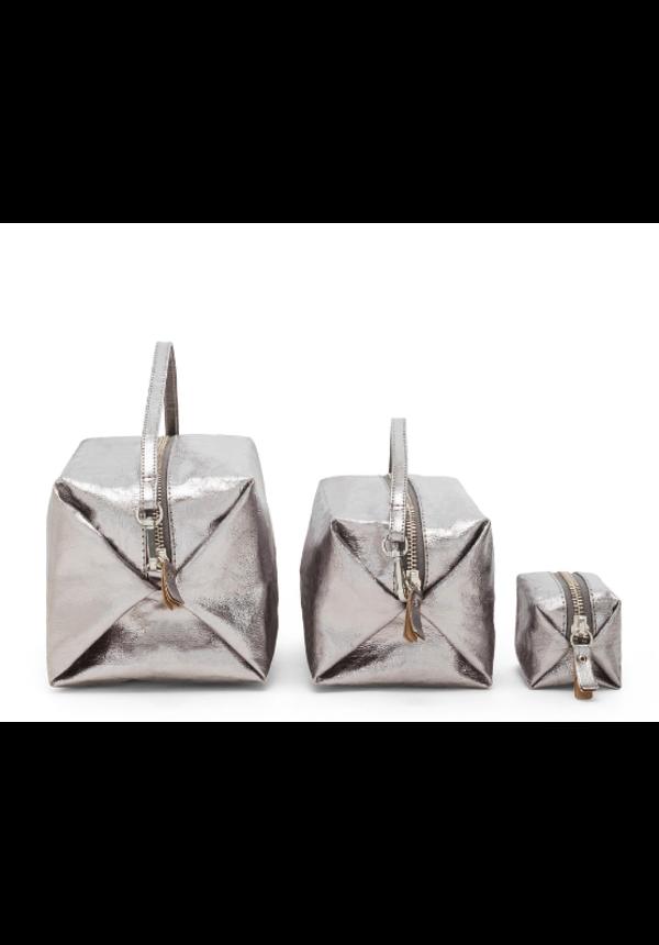 Trousse de beauté Origami Large - Métallisée