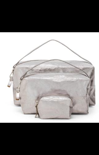 UASHMAMA® Origami Beauty Case X-Small - metallic
