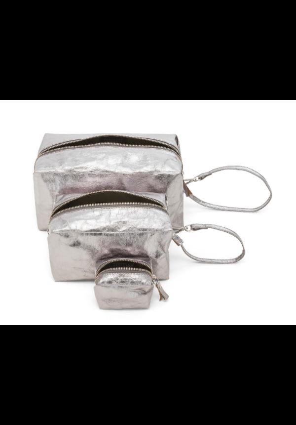 Origami Beauty Case X-Small - metallic