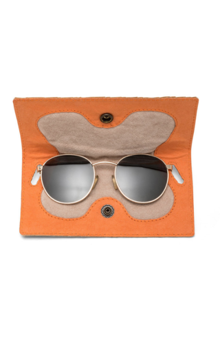 UASHMAMA® Gufo Woven Eyeglasses Case