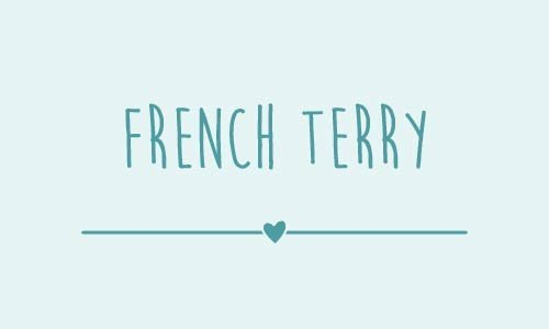 French terry of zomer sweat