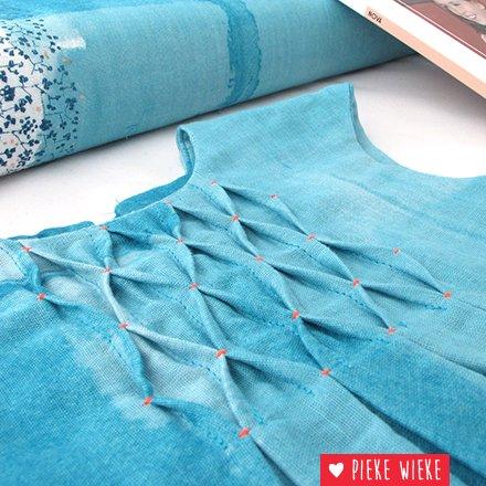 Nova, een heerlijk lente jurkje in Nani Iro stof