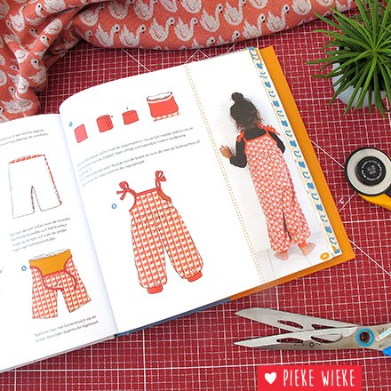 Hip, tough and sweet! Baby clothes for boys and girls! (Dutch book)