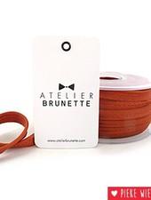 Atelier Brunette Crêpe paspel Kastanje