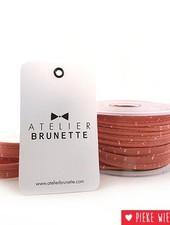 Atelier Brunette Crepe piping Sparkle melba gold