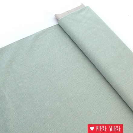 Canvas woven jacquard old mint