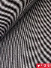 Canvas oblique woven jacquard Black - white