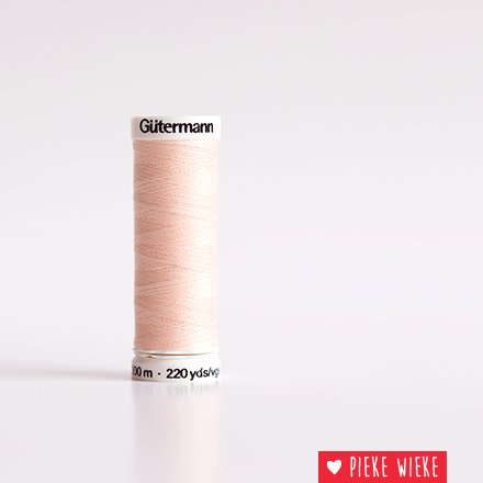 Gütermann All purpose thread 200m color 658 Veiled pink