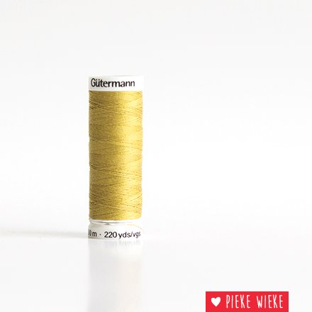 Gütermann All purpose sewing thread 200m color 580 Sulphur yellow