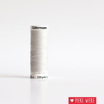 Gütermann All purpose sewing thread 200m color 8 light gray