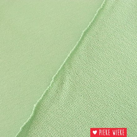 French Terry Pastel green mint