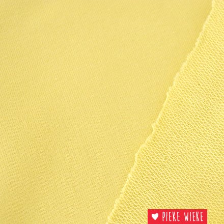 French Terry Pastel Yelow