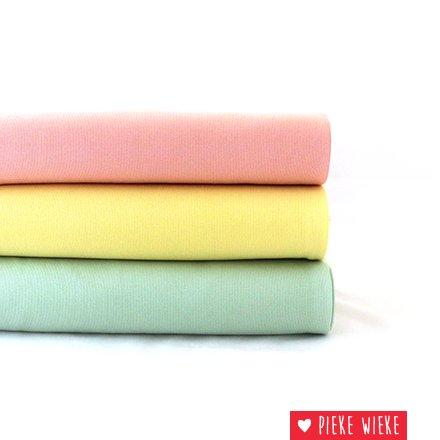 Eva Mouton Eva Mouton Ribbed fabric Mint green