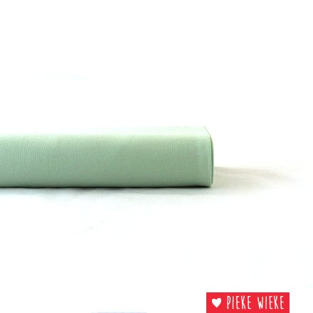 Eva Mouton Boordstof Pastel groen