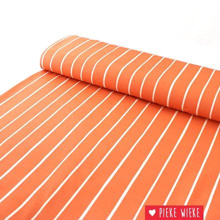 Eva Mouton Eva Mouton French Terry Stripes coral