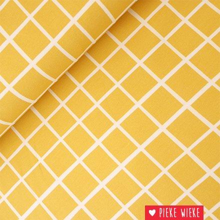 Eva Mouton French Terry Raster yellow