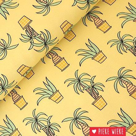 Eva Mouton French Terry Tropical yellow