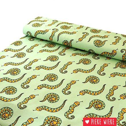 Eva Mouton Eva Mouton French Terry Snakes green