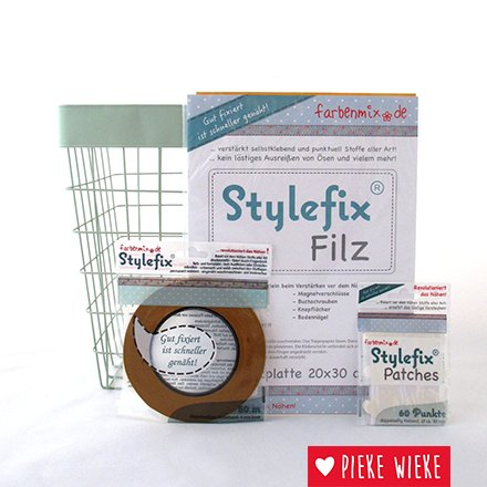Farbenmix Stylefix tape, dubbelzijdige plakband die overnaaibaar is