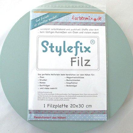 Farbenmix Stylefix felt, self-adhesive reinforcement, 20x30cm