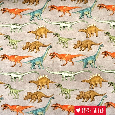 Poppy Tricot Dinosaur Walk Digital print