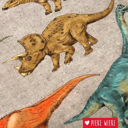 Poppy Tricot Dinosaur Walk Digitale print