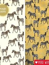 Magic fabric Jersey Zebras